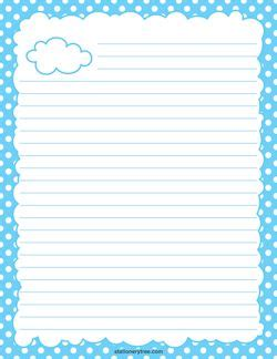 cloud writing paper cloud stationery stationary stationery and