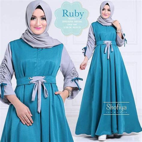 Baju Pakaian Wanita Gamis Maxi Lucia Dress Teracota Murah Meriah baju atasan pakaian wanita gamis hijabers ruby dress tosca http bit ly 2xwspgk untuk info
