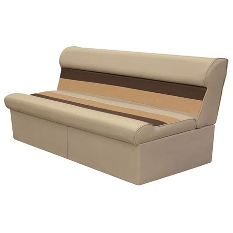 wise bench seat wise deluxe 55 quot pontoon bench seat 671385 pontoon seats