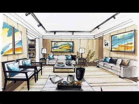 how to interior decorate how to sketch interior design youtube