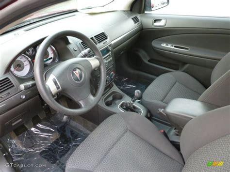 G5 Interior by Interior 2007 Pontiac G5 Standard G5 Model Photo