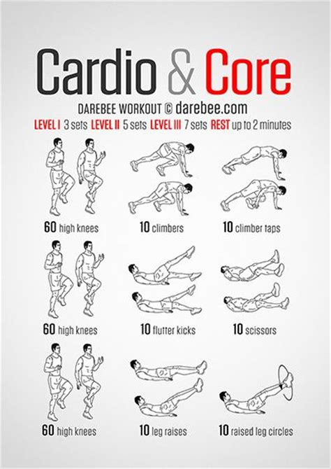 cardio and workout workouts by neilarey darebee