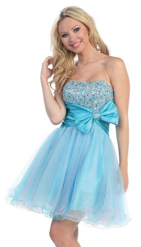 Light Blue Short Dress Short Light Blue Prom Dresses