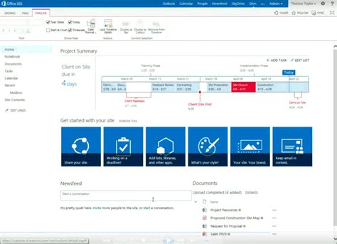 sharepoint 2013 site templates creating a sharepoint 2013 project site pythagoras