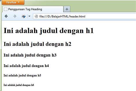 cara membuat judul skripsi eksperimen cara mudah membuat judul di html antoe santoso