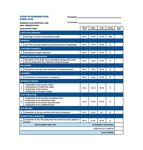 small business plan template free small business plans template
