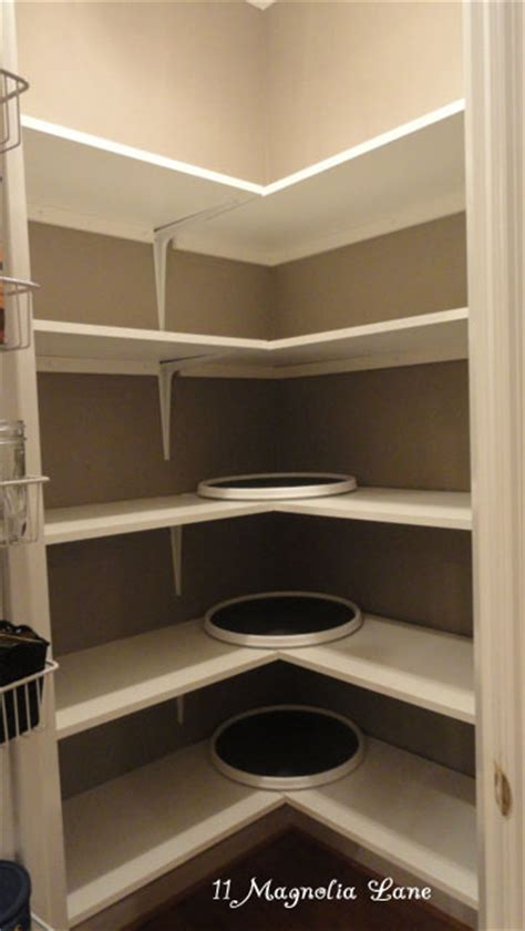Corner Pantry Shelving by Iheart Organizing Reader Space Magnolia Loveliness