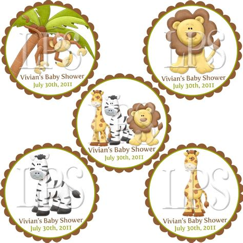 printable zoo name tags jungle safari zoo cupcake toppers labels tags by