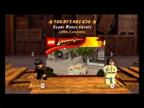 tutorial lego indiana jones 2 wii game completion lego indiana jones 2 the adventure