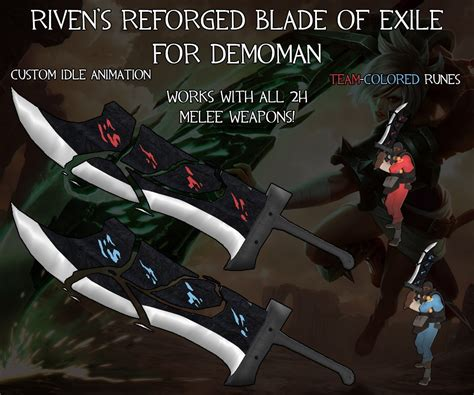 Blade Reforged blade of the exile reforged team fortress 2 skin mods