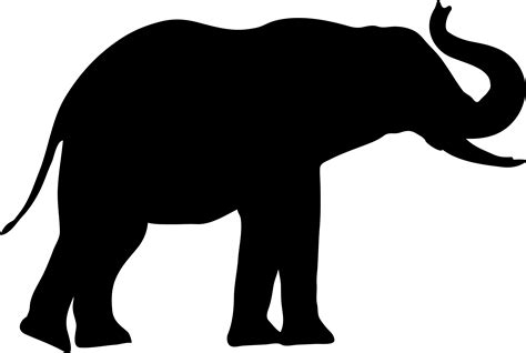 Wall Letter Stickers image gallery shape elephant