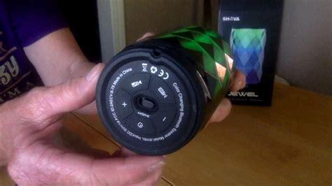 bluetooth speaker with lights amazon amazon s shava pulse wireless bluetooth speaker with led
