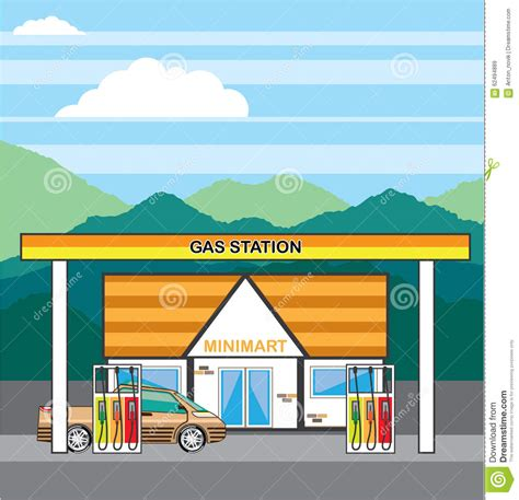 gas station clip art and stock illustrations 6900 gas vector gas station stock vector image 62494889