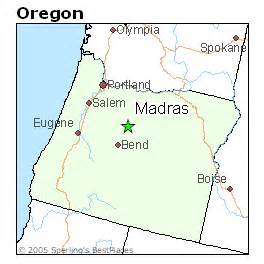 map of madras oregon best places to live in madras oregon