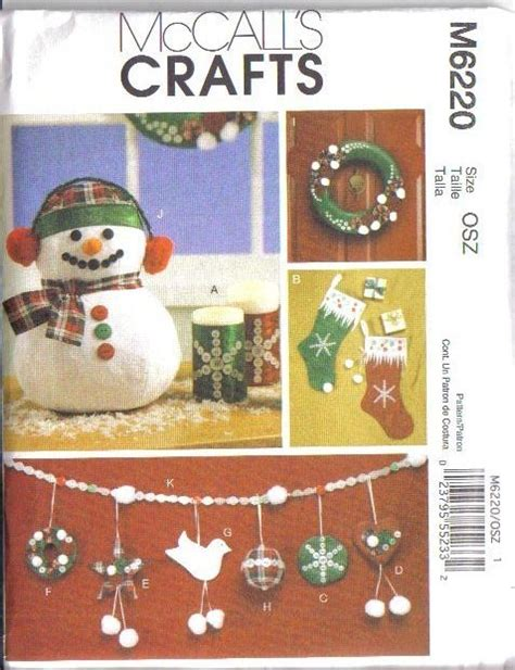 oop mccalls sewing pattern christmas holiday mccall s