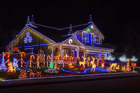 where can we see christmas lights on houses in alpharetta house photograph by garry