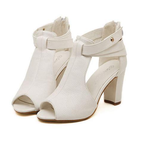 sandals 2015 peep toe summer shoes high heel