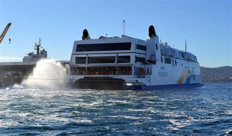 coastal catamaran ferry cascade fred s pages