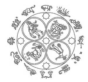 zodiac coloring sheets coloring pages