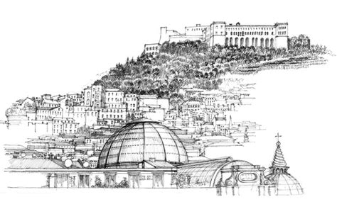 sicily sketchbook books naples vomero hill above the city rooftops quot the