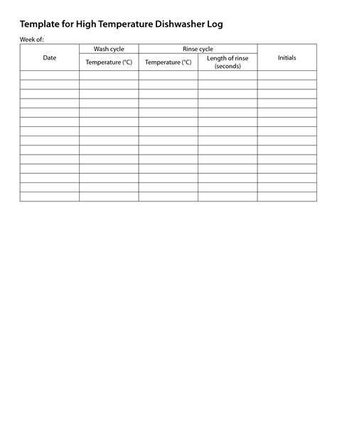 room temperature log sheet template room temperature log sheet template 28 templates temp