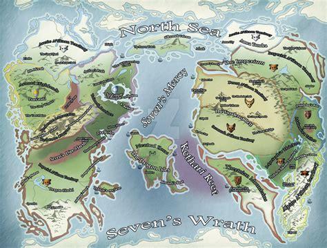 ice age world map edited  kalnu  deviantart
