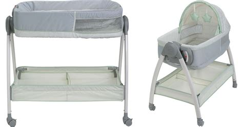 graco bassinet and changing table graco bassinet changing table 83 82 reg 150 wheel