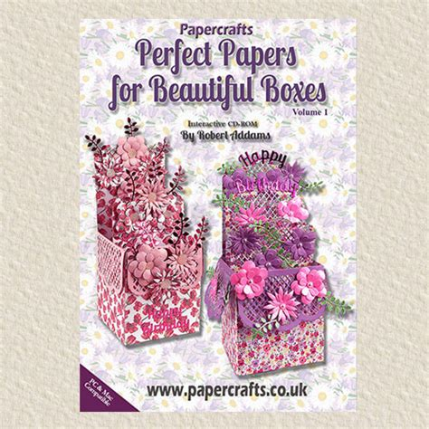 Papercrafts Co Uk - papers for beautiful boxes cd rom volume 1