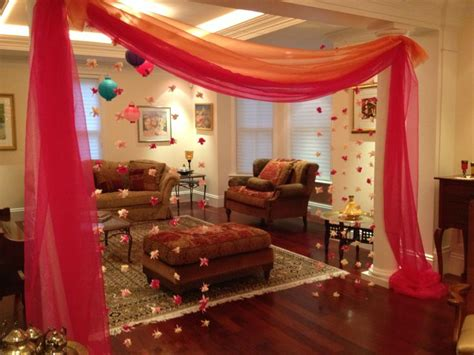 decorations   sisters moroccan bridal showerhenna