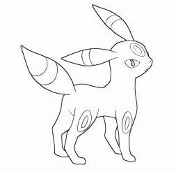 pokemon coloring pages umbreon coloring home