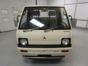 mitsubishi mini truck bed size 1989 mitsubishi minicab 26629 duncan imports and