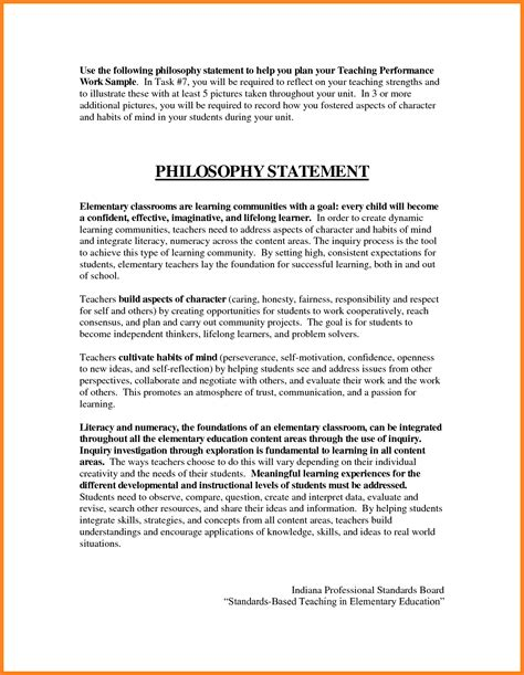 7 teaching philosophy statement exles registration statement 2017