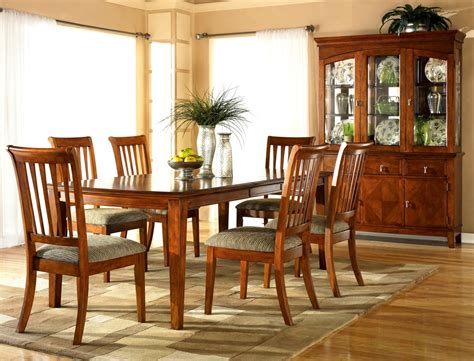 cherry wood dining table and chairs ethan allen dining