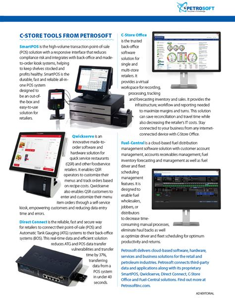 c store pos to back office solutions from petrosoft