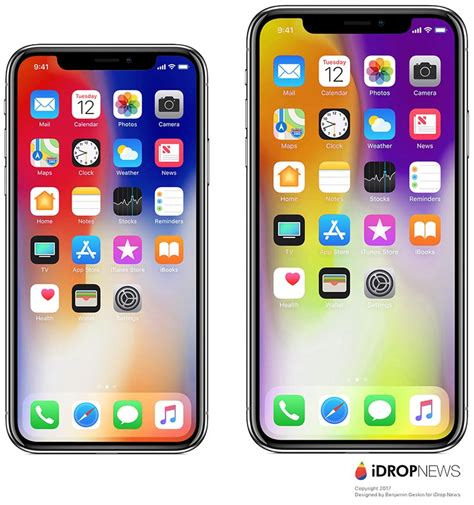 x iphone size iphone x plus should lead apple to significantly increase oled display orders next year macrumors