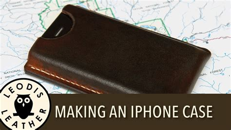 Handphone Casecover Handmade a leather for an apple iphone 4