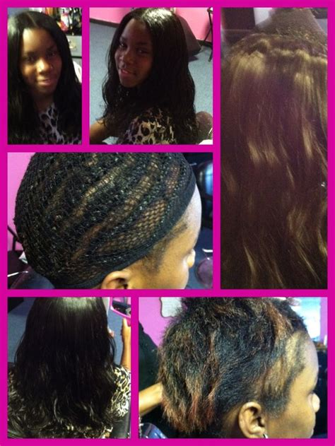 sweing track weave hairstyle teen sew in face 2 face weave beauty lounge