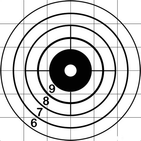 printable large rifle targets trade signals correction targets cmg