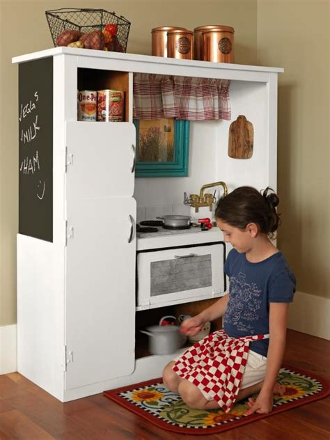 tv cabinet made into play kitchen how to turn an old entertainment center into a play