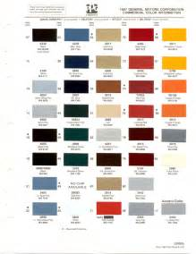 gm color paint chips 1987 chevy truck