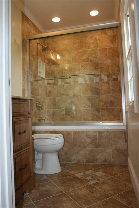 Bathroom Shower Tile Pictures 17 Delightful Small Bathroom Design Ideas