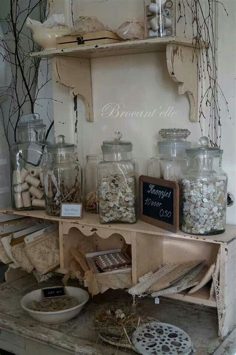 shevling pic is a little too primitive but love shelving brocante i love pinterest