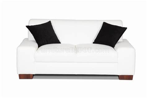 white bonded leather sofa set white bonded leather modern sofa loveseat set