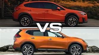 Subaru Outback Vs Crosstrek 2018 Subaru Crosstrek Vs 2017 Nissan Rogue