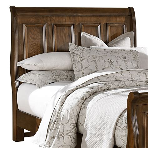 bassett headboards vaughan bassett woodlands queen sleigh headboard olinde