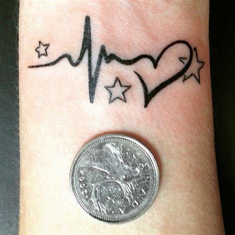 heartbeat tattoo designs images 22 photos of inspiring heartbeat tattoos