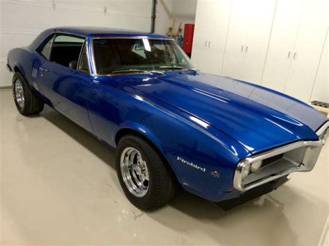 Pontiac Blue by Laguna Blue 1967 Pontiac Firebird