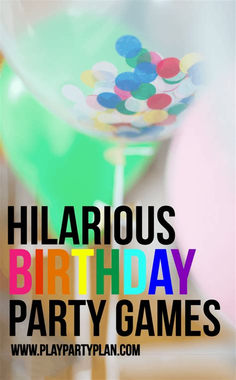 party themes hilarious hilarious birthday party games for kids adults play
