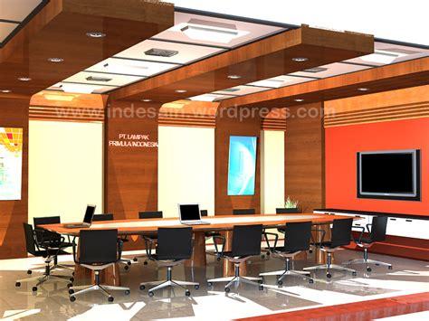 layout ruang pertemuan desain meeting room interior desain