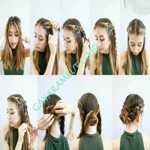 cara mengepang rambut dengan rapi 35 cara mengepang rambut pendek sebahu dengan mudah dan